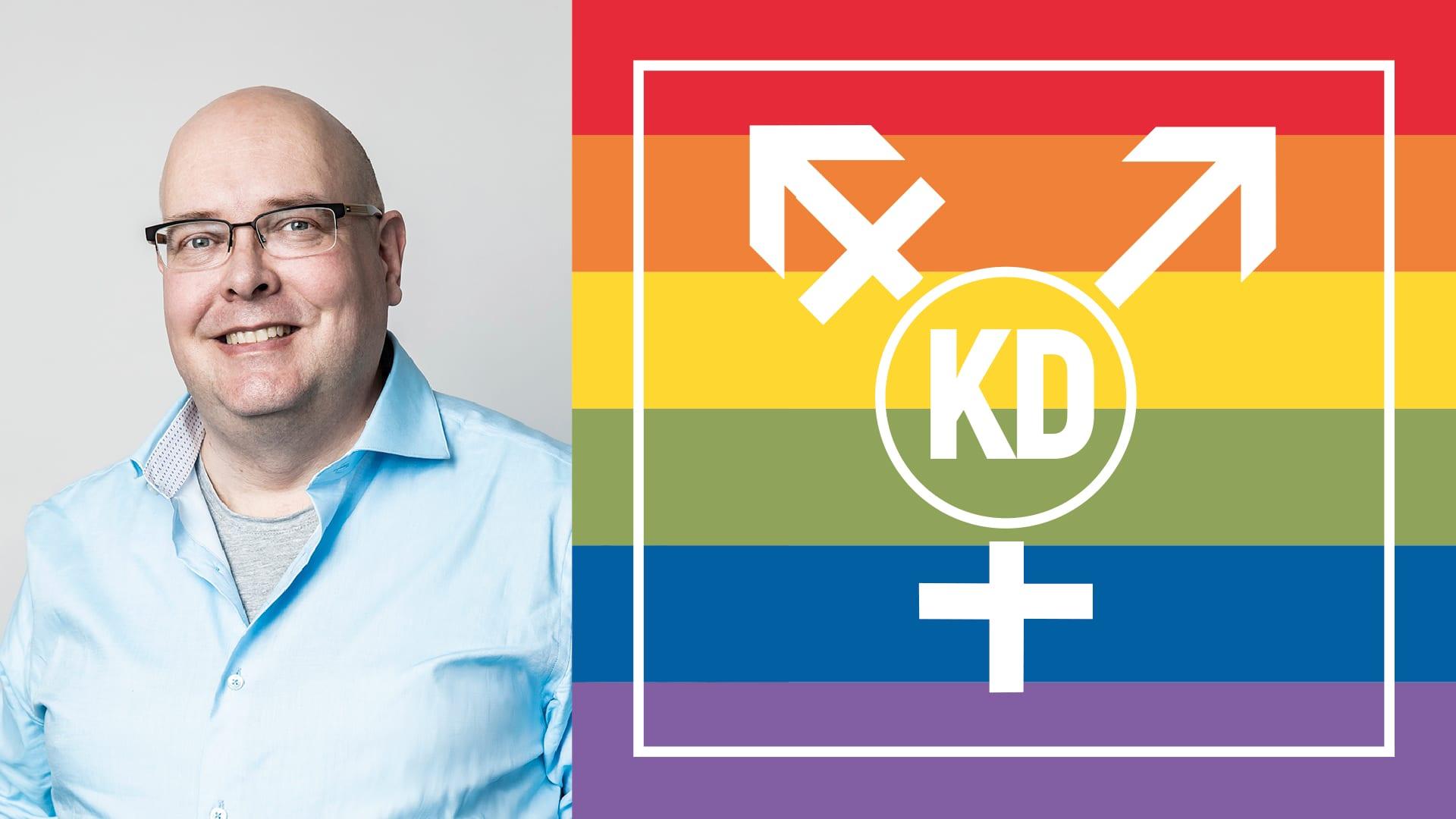 Dagen: Kristdemokraterna på väg att få hbt-vänligt förbund